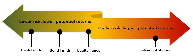 Understand the risks and potential returns of different investments
